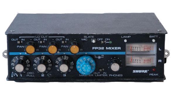 FP 32 mixer front